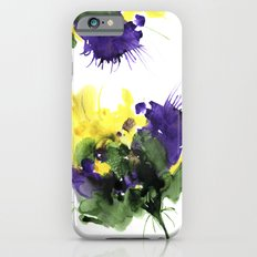 Abstract fantasy 3D violet flower. iPhone 6s Slim Case