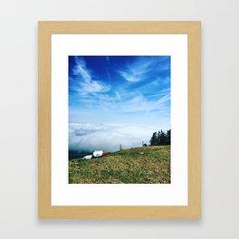 Inversion Framed Art Print