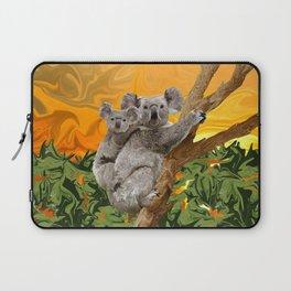 Koala Sunset Laptop Sleeve