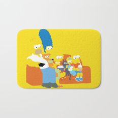 The Simpsons - Family Bath Mat