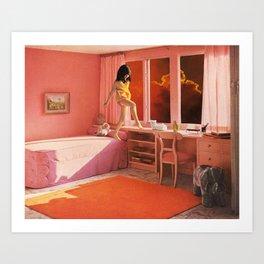 HOT LAVA Art Print