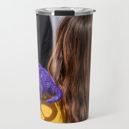 Kitty Pryde and Lockheed of the X-Men tries to discipline Quentin Travel Mug