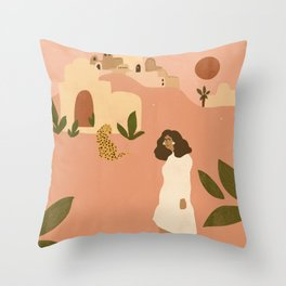 I want to go to Marrakech Throw Pillow