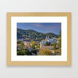 Sintra, evening light Framed Art Print