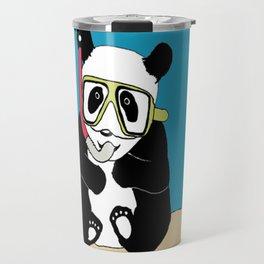 Snorkel Panda  Travel Mug