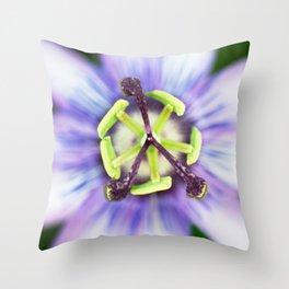 Peace Flower Throw Pillow