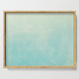 Spearmint Ombre Serving Tray