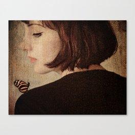 A Visit Canvas Print