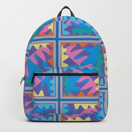 Mountain Puzzles Pastel Backpack