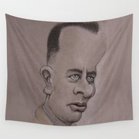 forrest Wall Tapestries featuring Forrest by chadizms