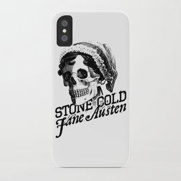 Stone Cold Jane Austin iPhone Case