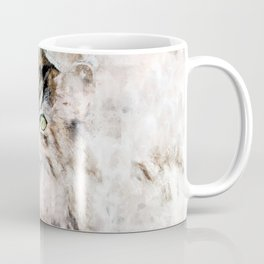 Duchess Watercolor Cat Coffee Mug
