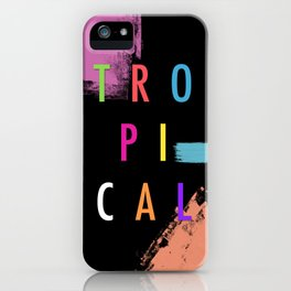 Topical '17 iPhone Case