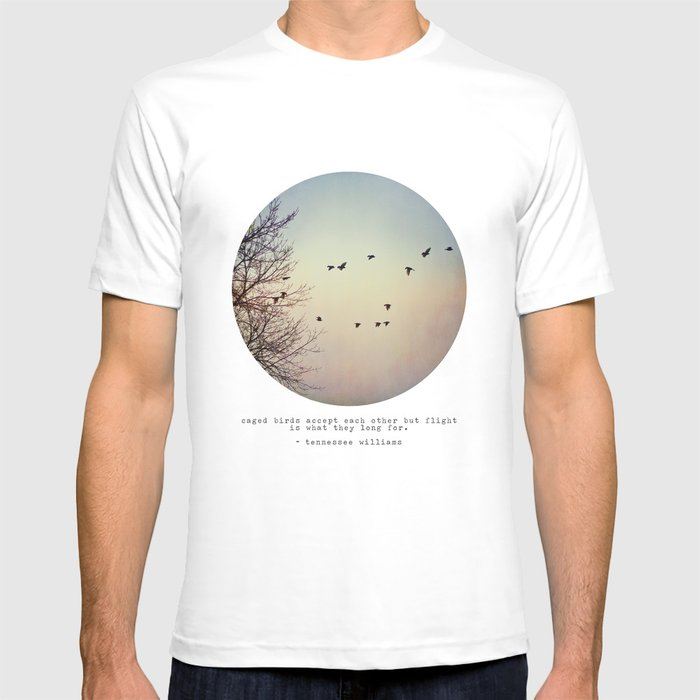 Caged Birds T-shirt