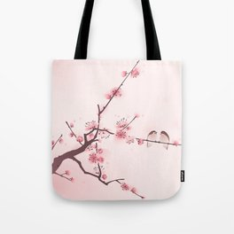Oriental cherry blossom in spring 005 Tote Bag
