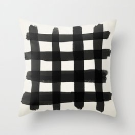 Checkish Throw Pillow