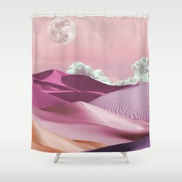 Pink Girls and Silk Sheets Shower Curtain