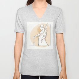 Saint Distaff's Day Unisex V-Neck