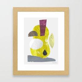 Récolte II Framed Art Print