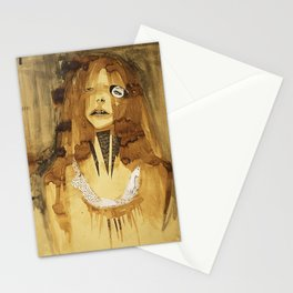 she was here Stationery Cards
