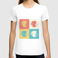 merlin T-shirts featuring Multicolor Pendragon, Merlin by carolam