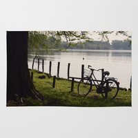 bicycle Area & Throw Rugs featuring Bicycle by L'Ale shop