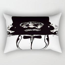 """""""Mustachat"""" Rectangular Pillow"""