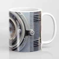 aperture Mugs featuring Detrola (Vintage Camera) by RichCaspian