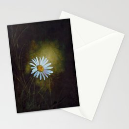 Marquerite in the darkness Stationery Cards