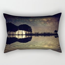 guitar island moonlight Rectangular Pillow