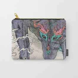 Journeying Spirit (wolf) Carry-All Pouch