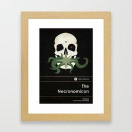 The Necronomicon - Elder Sign Classics Framed Art Print