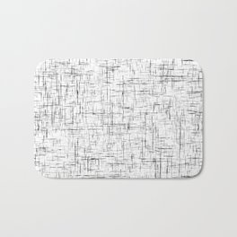 Ambient 77 in B&W 1 Bath Mat