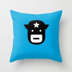 captain america Throw Pillow