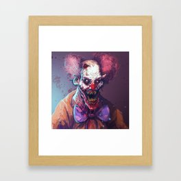 KLOWNTIME Framed Art Print