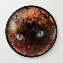 Everything Is Just Peachy Wall Clock