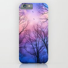 A New Day Will Dawn  (Day Tree Silhouettes) Slim Case iPhone 6