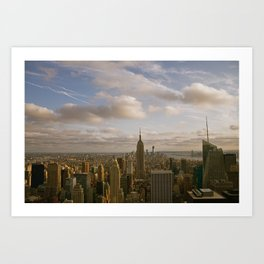 Kiss the Sky Art Print