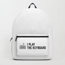 I play the keyboard Backpack