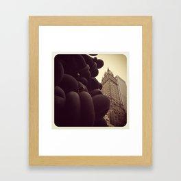 New York Sherry Netherland Framed Art Print