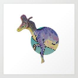 Lambeosaurus Art Print
