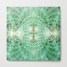 Geometry Dreams : Eternal Metal Print