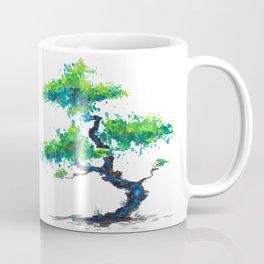 Blue Bonsai Coffee Mug