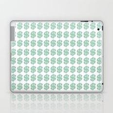Mint Money Repeat Laptop & iPad Skin