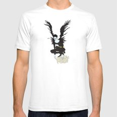 The One & Only Ryuk SMALL Mens Fitted Tee White