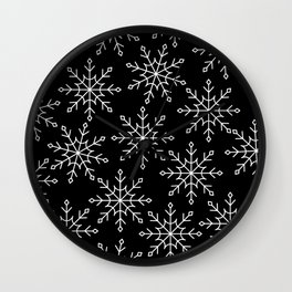 Give Me a Black & White Christmas - 3 Wall Clock