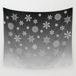 Snow Flurries Wall Tapestry