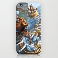 Steampunk Alice in Wonderland Teacups  iPhone 6s Slim Case
