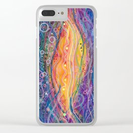 a very bright idea Clear iPhone Case