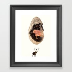 Monolith Framed Art Print